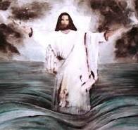 jezus hodi po vodi